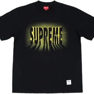 Supreme Shirts - Supreme Light S/S Black Top Size Large